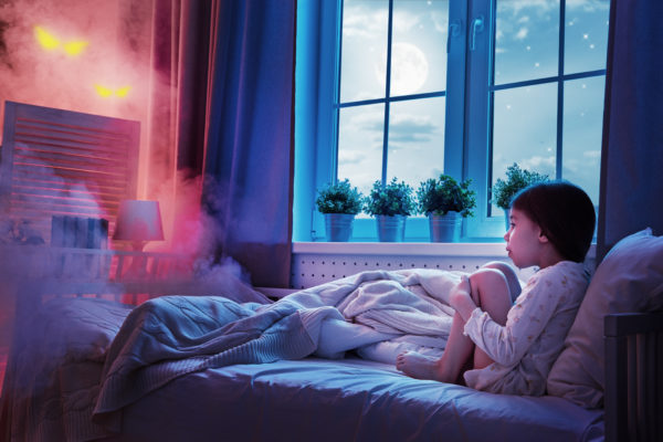 Helpful tips for coping with Nightmares and Night Terrors. www.superhealthykids.com