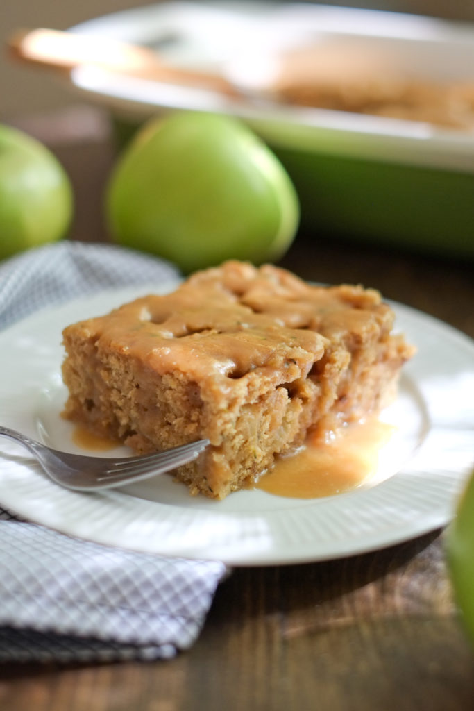 Healthy Apple Yogurt Cake
