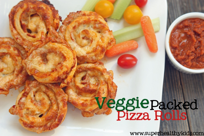 Veggie Packed Pizza Roll