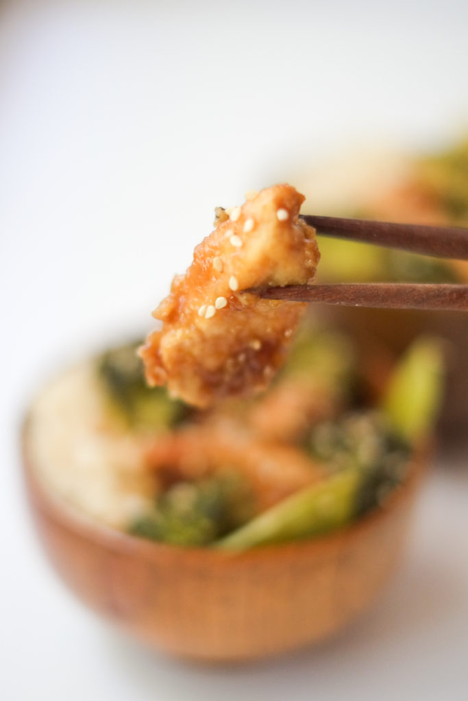 Slow Cooker Honey Sesame Chicken with Veggies Recipe