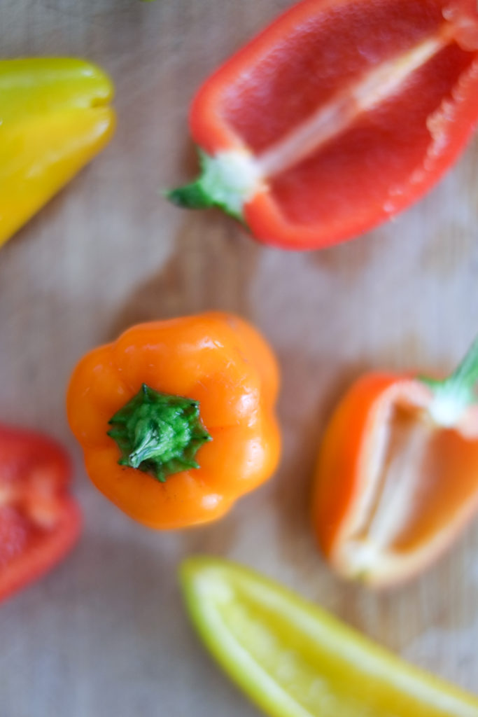 Spinach and Cheese Stuffed Mini Peppers Recipe