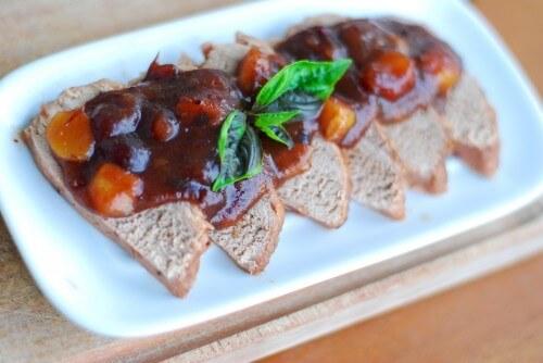 Ginger Cranberry Pork Roast