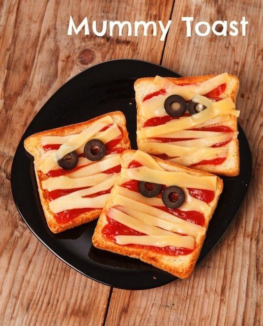 Mummy toast