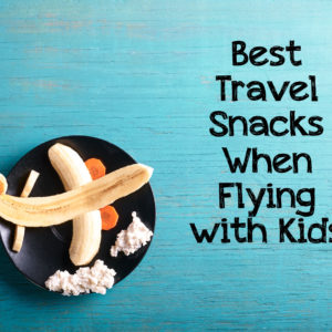 Flying with Kids: Best Snacks for Travel