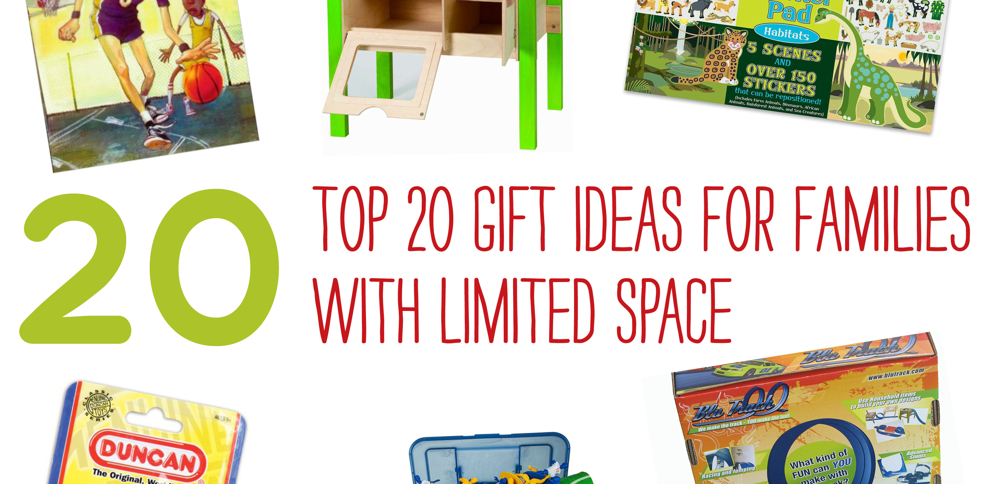 Gift Guide: Top 20 Gift Ideas For Families With Limited
