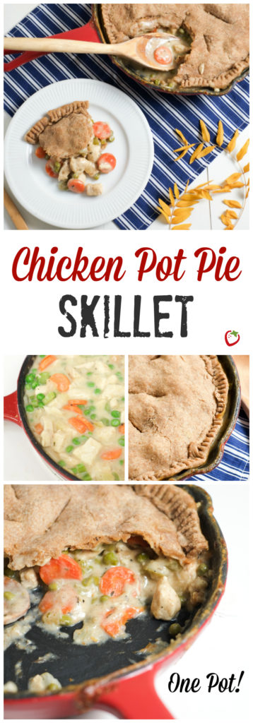 One DIsh Chicken Pot Pie Skillet   Super Healthy Kids   Food and Drink