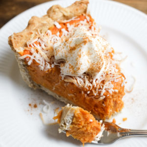 Coconut Sweet Potato Pie Recipe