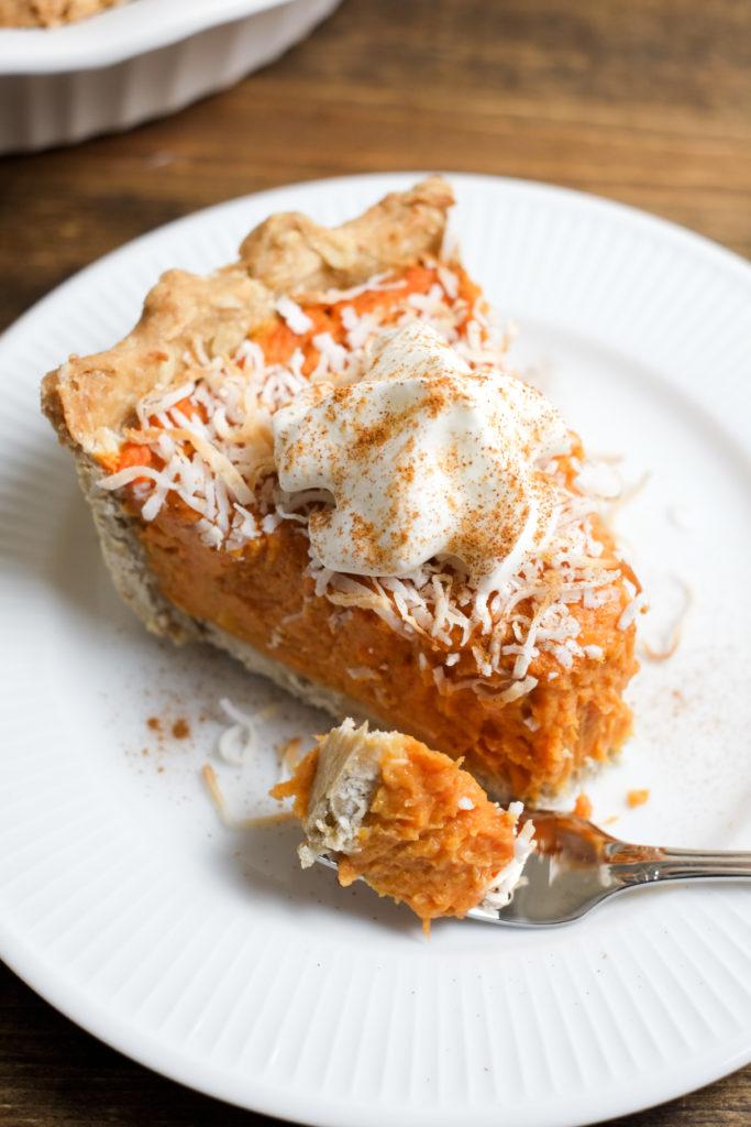 Coconut Sweet Potato Pie Recipe | Super Healthy Kids | Food and Drink