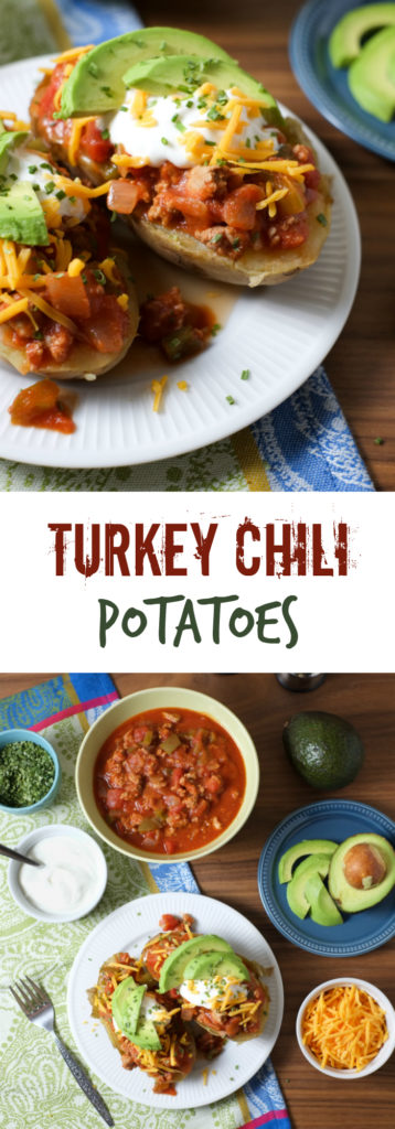 FOOD - Turkey Chili Potatoes. Looking for a filling, easy, and healthy potato dinner? Look no further. See why these are one of our most popular member recipes. http://www.superhealthykids.com/turkey-chili-potatoes-recipe/
