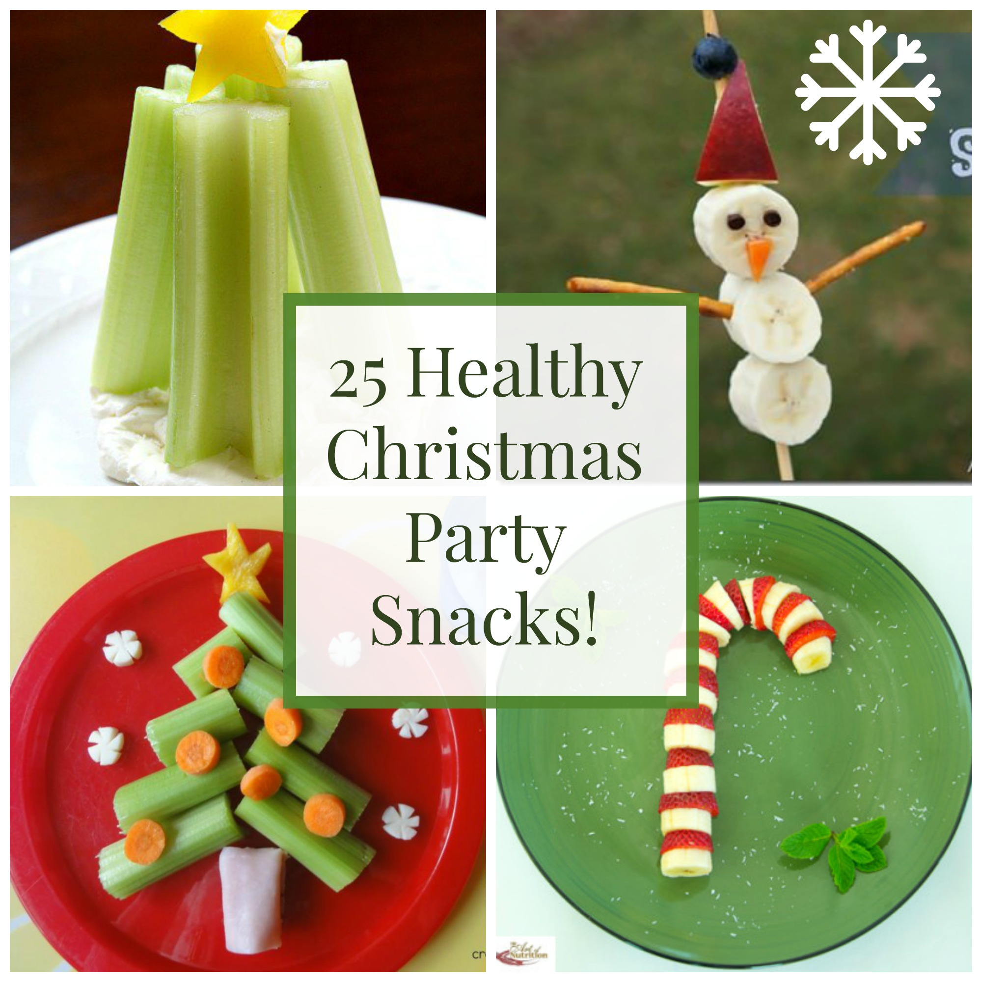 Christmas Party Lunch Ideas Part - 47: 25 Healthy Christmas Snacks And Party Foods