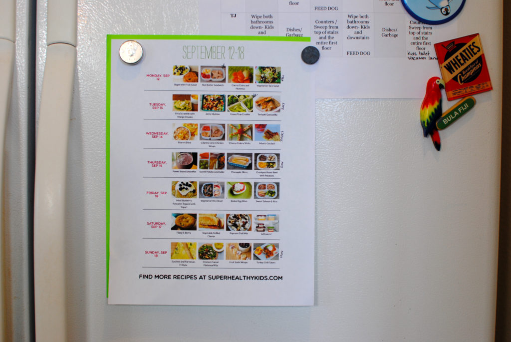 4 Steps to Meal Planning Success. Master meal planning and eat healthfully with a system that fits your unique family!