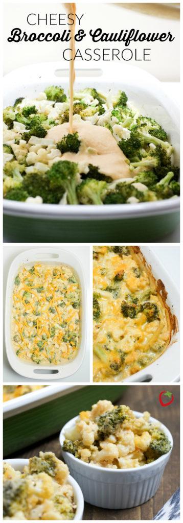 FOOD - Cheesy Broccoli and Cauliflower Casserole | Super Healthy Kids | Food and Drink https://www.superhealthykids.com/cheesy-broccoli-cauliflower-casserole-recipe/