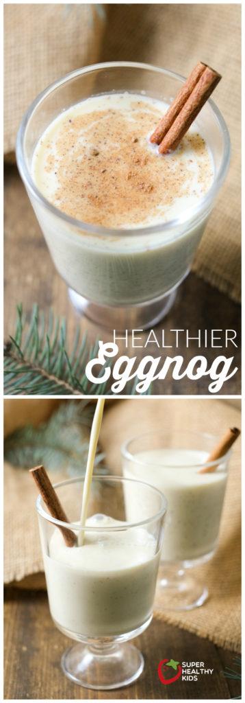 Healthy Eggnog | Super Healthy Kids | Food and Drink