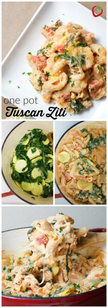 One Pot Tuscan Ziti | Super Healthy Kids | Food and Drink http://www.superhealthykids.com/one-pot-tuscan-ziti-recipe/