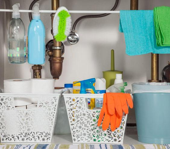 Kitchen Cleaning Products: Kitchen Organization Success For The New Year