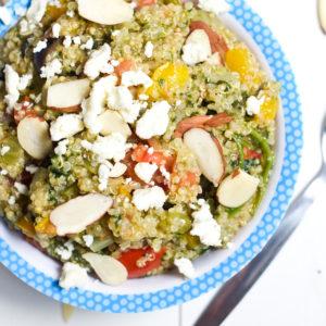 Instant Pot One-Minute Quinoa and Veggies