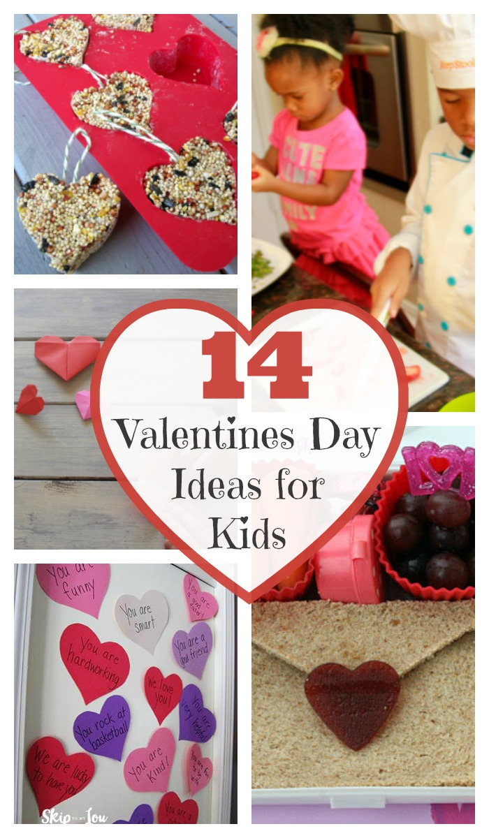 VALENTINE IDEAS - 14 Fun Ideas for Valentine's Day with Kids. Enjoy 14 fun ideas for spending your Valentine's Day with your kids to let them know how much you care for, love, and appreciate them. https://www.superhealthykids.com/14-fun-ideas-valentines-day-kids/