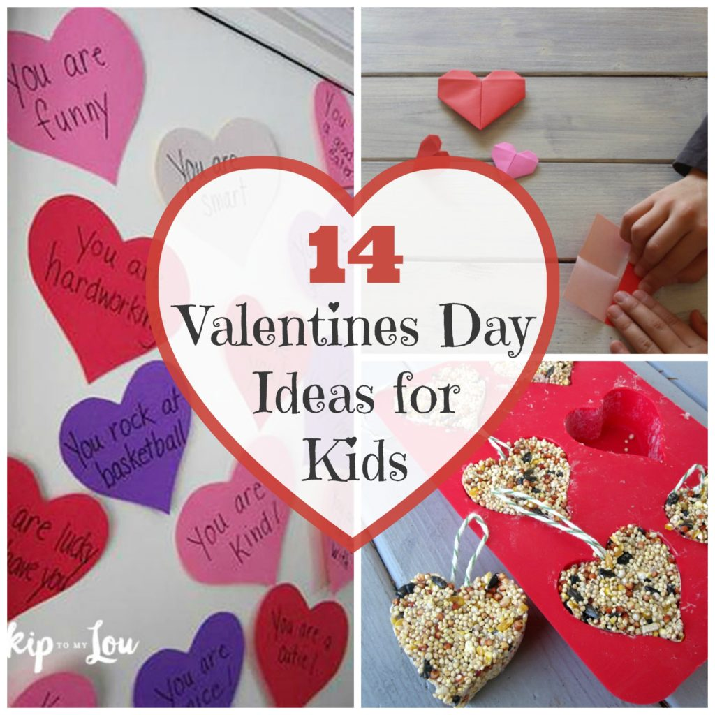 14 Fun Ideas for Valentine's Day with Kids. Enjoy 14 fun ideas for spending your Valentine's Day with your kids to let them know how much you care for, love, and appreciate them.