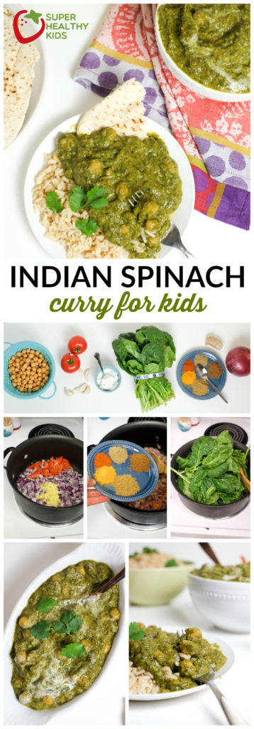 Indian spinach curry for kids recipe healthy ideas for kids indian spinach curry for kids recipe super healthy kids food and drink forumfinder Choice Image
