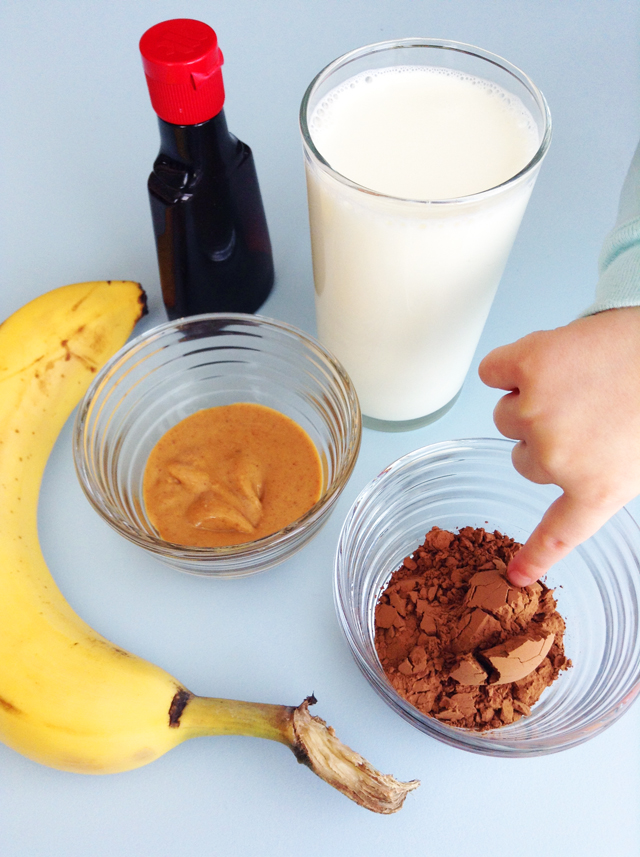 Magic Chocolate Milk. Kids love this creamy, fruit-sweetened remake of chocolate milk that tastes--magically!--just like the store-bought variety.