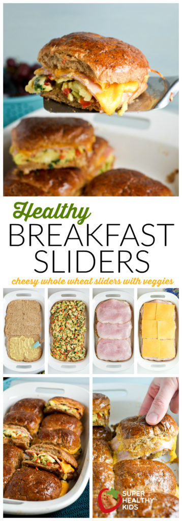 Healthy Breakfast Sliders | Easy breakfast idea for kids! | Super Healthy Kids | Food and Drink