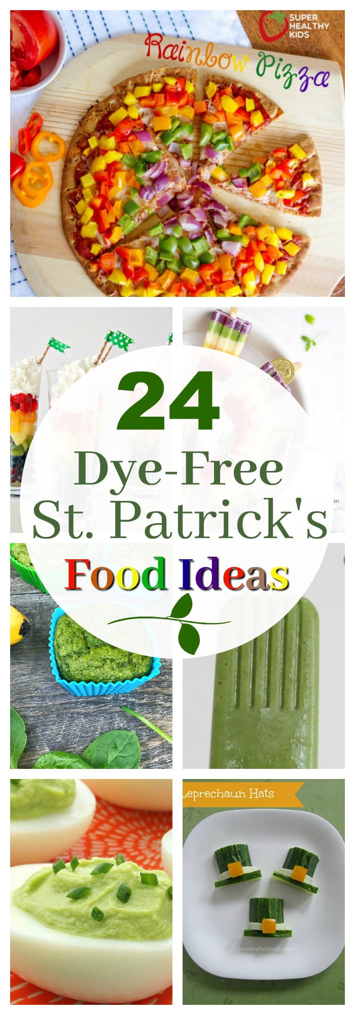 Healthy Holidays- dye-free st. patrick's day food