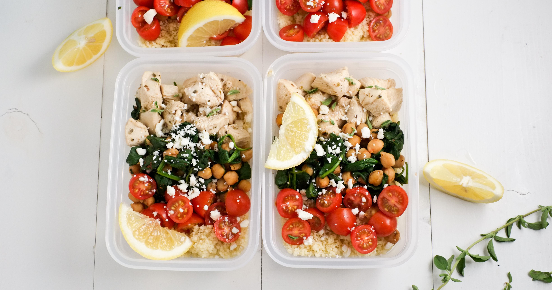 Make Ahead Lunch Bowls Greek Chicken Amp Veggies Healthy Ideas For Kids