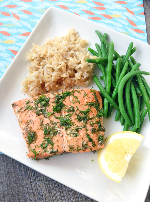 10-Minute Instant Pot Salmon (From Frozen!) | Healthy ...