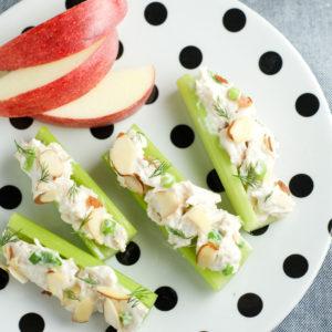 Chicken Salad Celery Sticks
