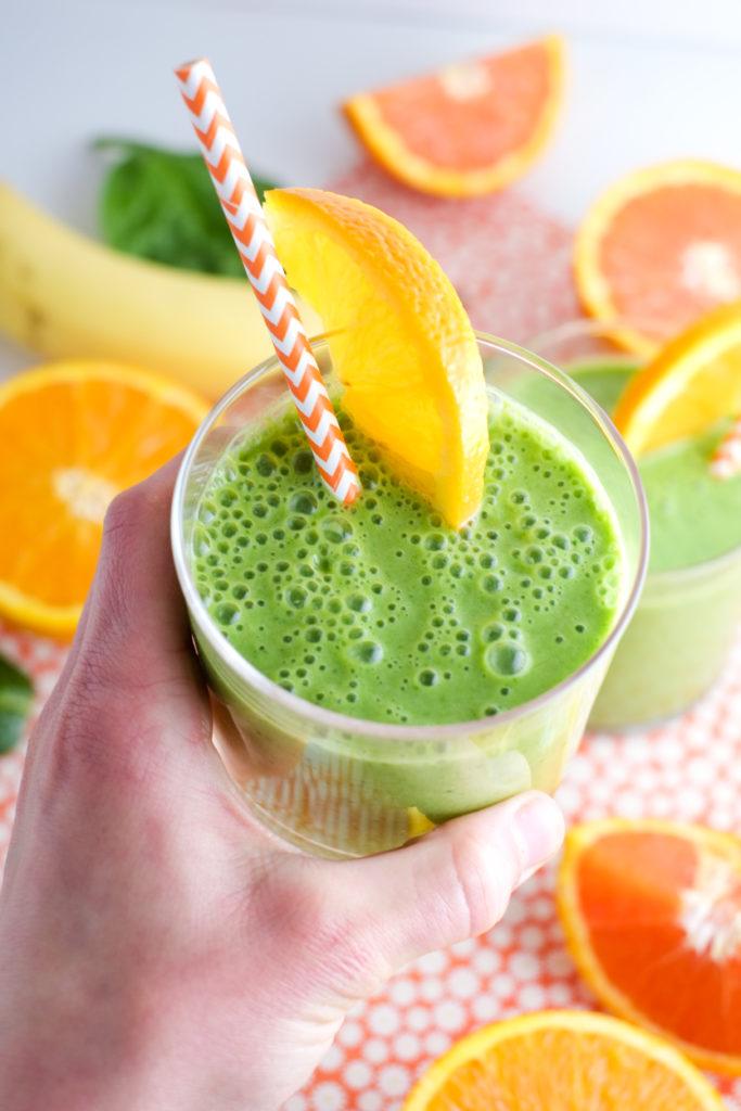 Green Julius: Healthy Orange Julius Recipe   Super Healthy Kids   Food and Drink