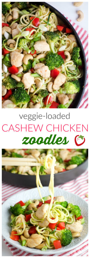 Food - Cashew Chicken ZOODLES | Super Healthy Kids