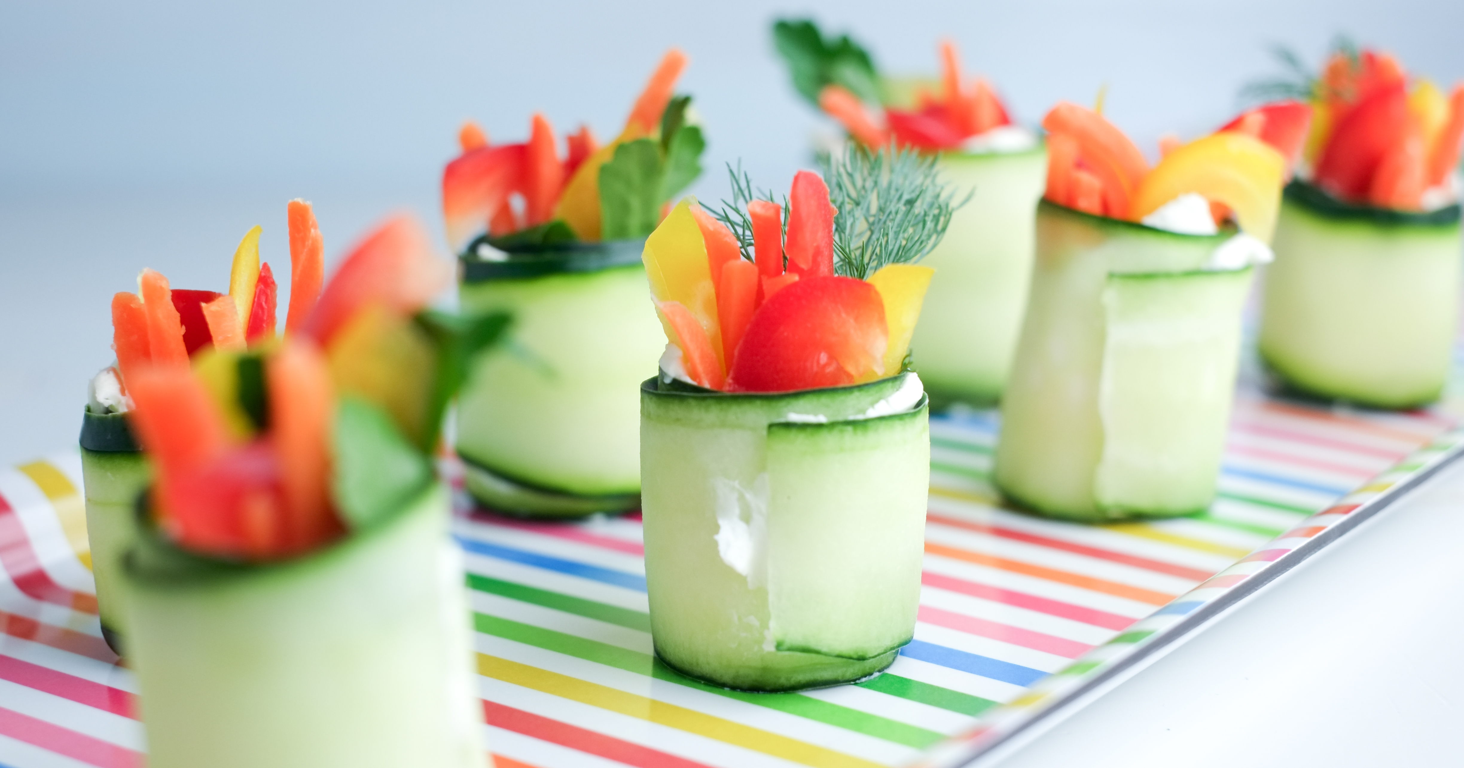 Fresh Cucumber Roll-ups | Healthy Ideas for Kids