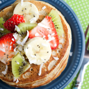 Banana Smoothie Pancakes Recipe