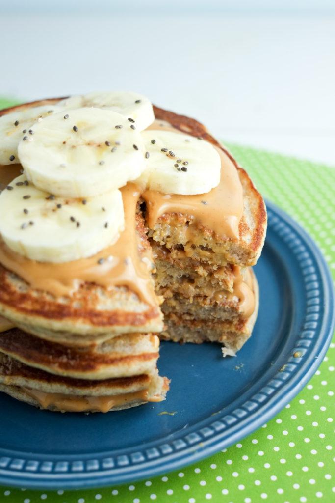 Banana Smoothie Pancakes | Super Healthy Kids | Food and Drink | Healthy Breakfast