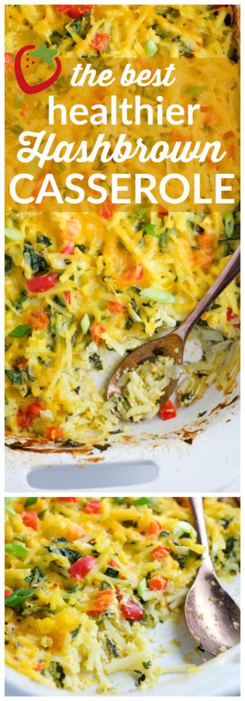 Food- The BEST Healthier Hashbrown Casserole Recipe   Super Healthy Kids