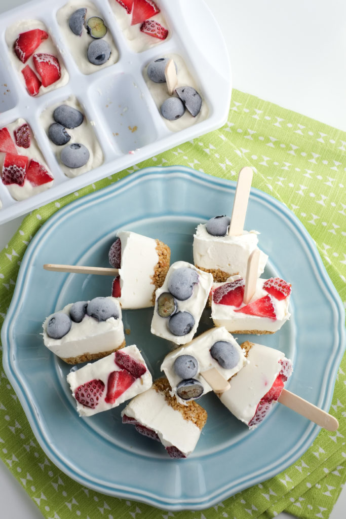 Use your ice cube tray to make super fun and delicious desserts!