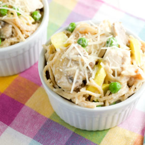Veggie-Packed Chicken Tetrazzini Recipe