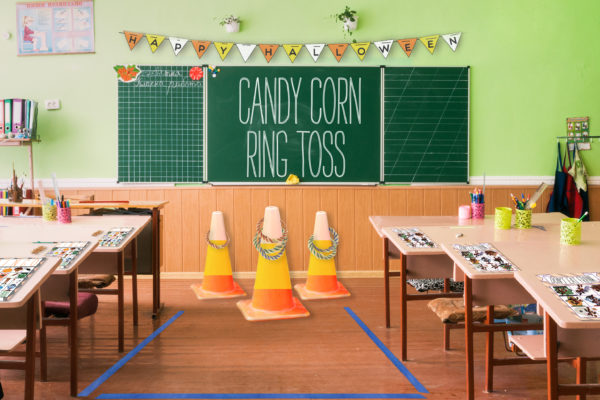 The class of kindergarten for children's education