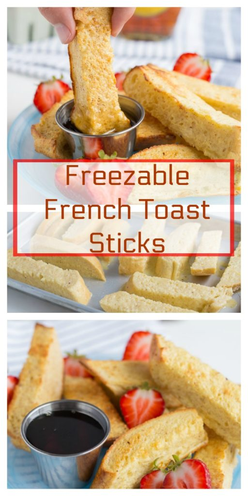 Freezable French Toast Sticks