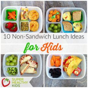non sandwich lunch ideas