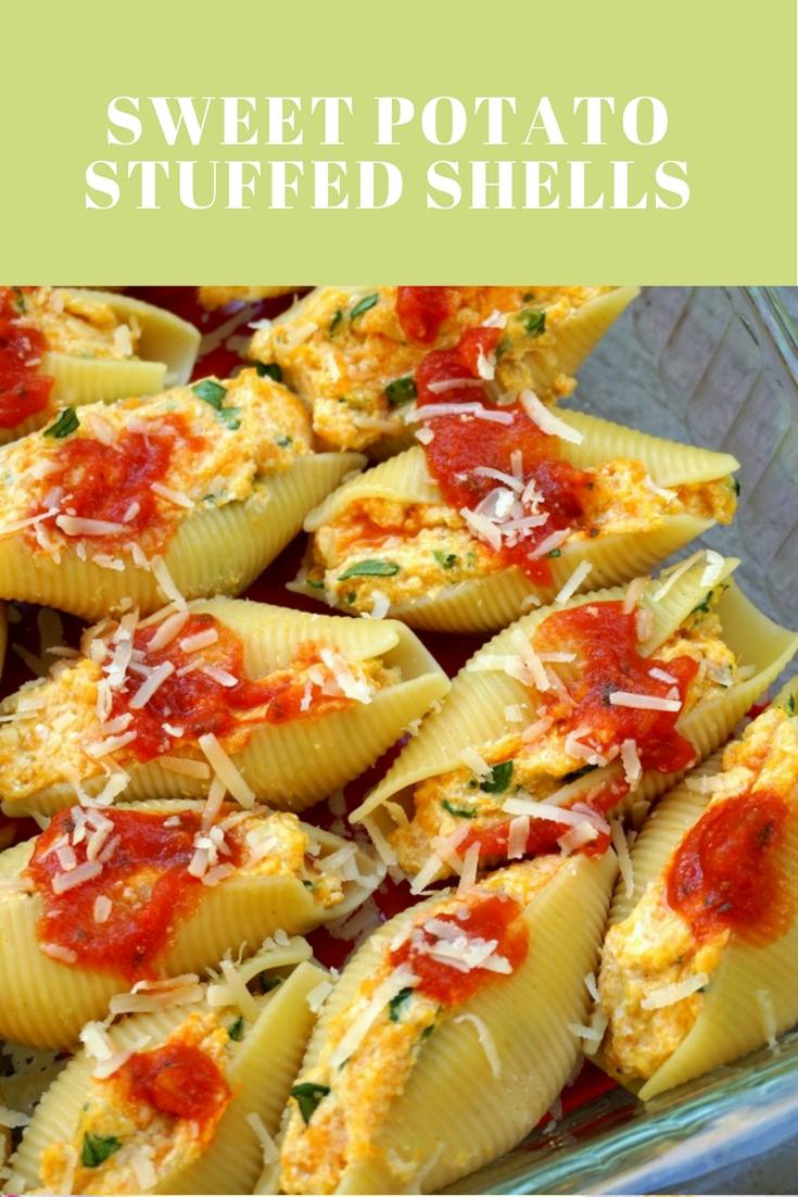 Sweet Potato Stuffed Shells