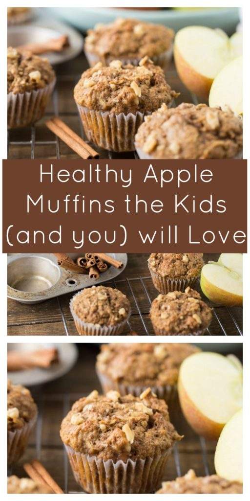 Healthy Apple Muffins the Kids (and you) will Love