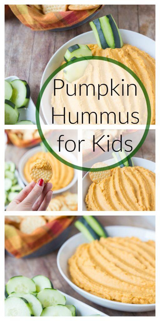 Pumpkin Hummus for Kids