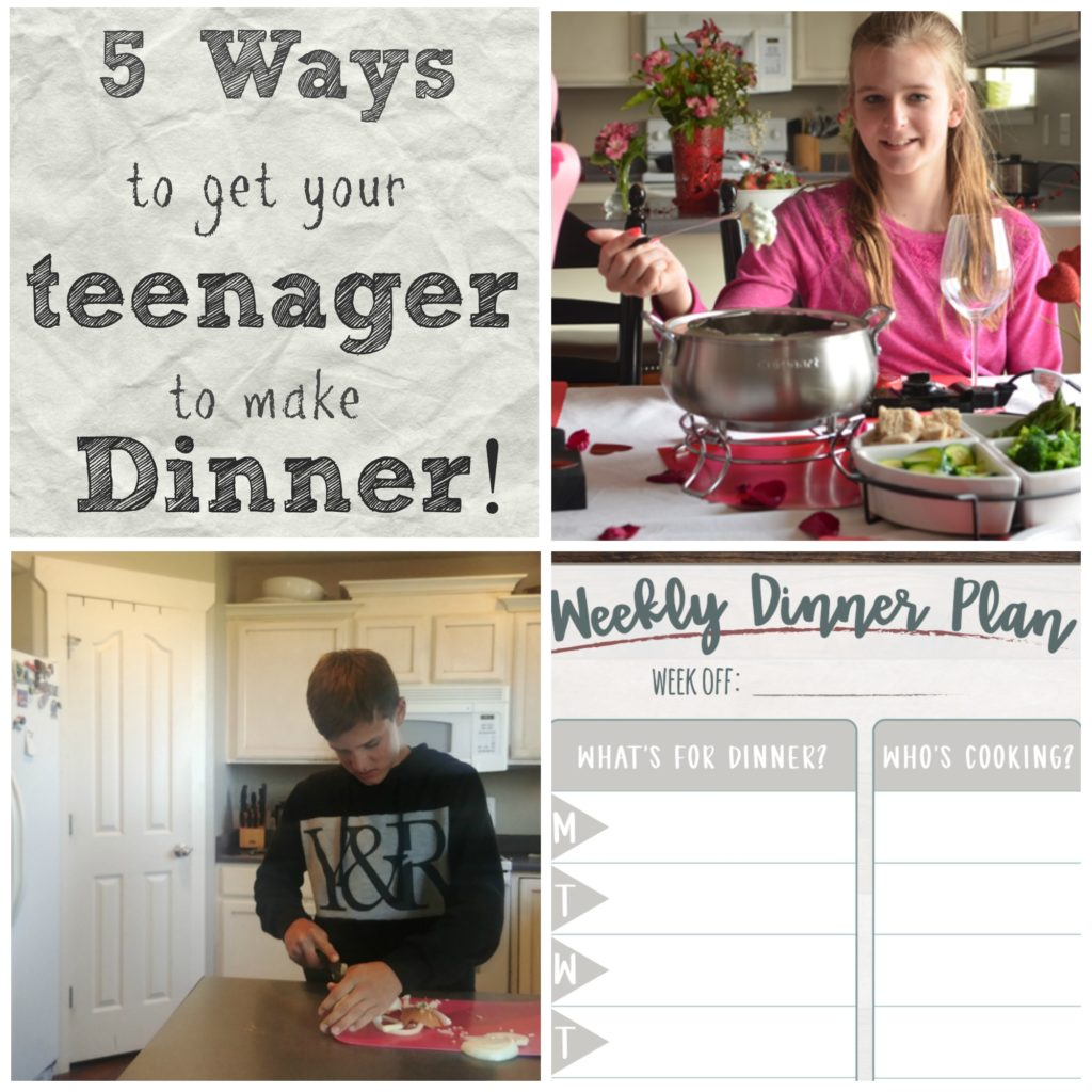 5 Tips to Get Your Teenager to Make the Family Dinner