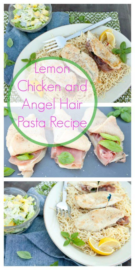 Lemon Chicken and Angel Hair Pasta Recipe