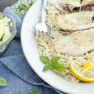 Lemon Chicken and Angel Hair Pasta Recipe