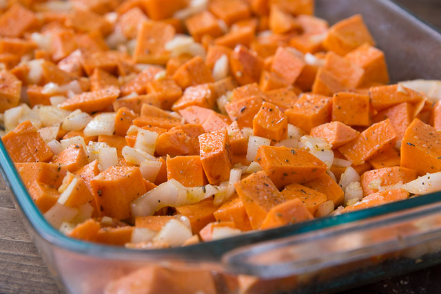 Easy to make Sheet Pan Sweet Potatoes