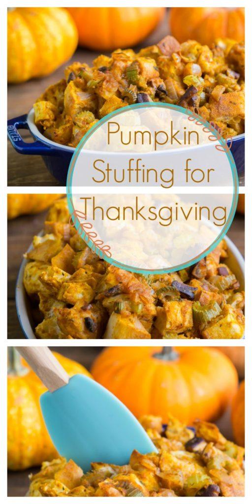 Pumpkin Stuffing for Thanksgiving