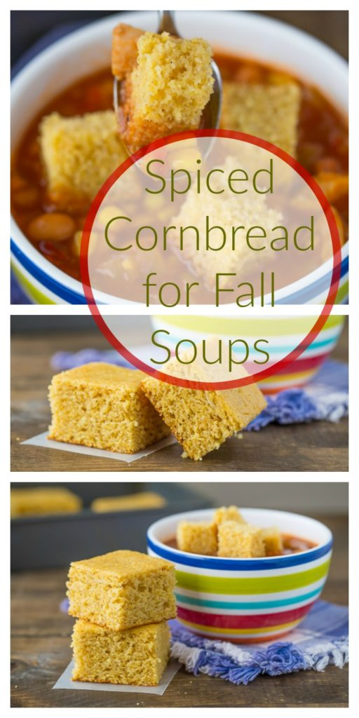 Spiced Cornbread for Fall Soups