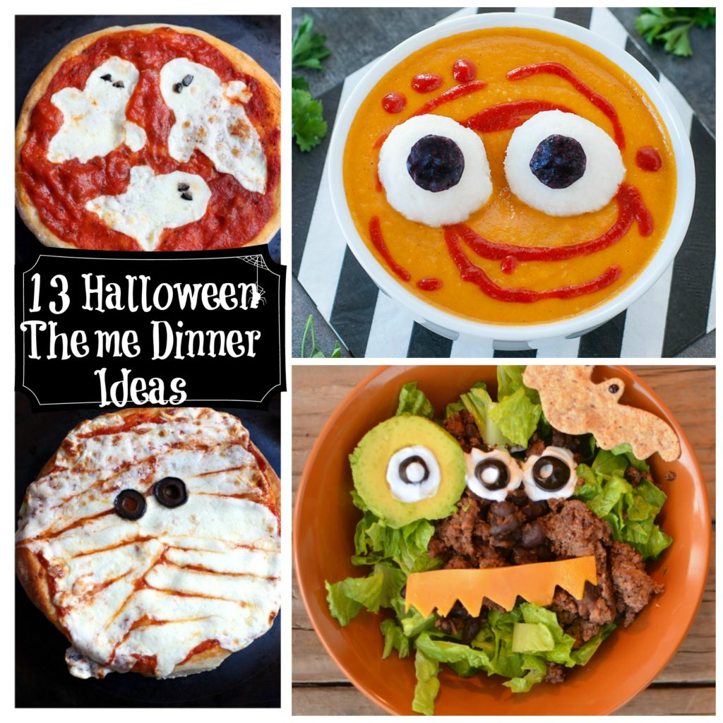 13 Healthy Halloween Themed Dinner Ideas
